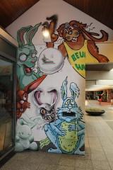 IMG_5703 (Paul Optenkamp) Tags: streetart streetartcity kijkduin paint beach shoppingmall muralart graffiti colorful