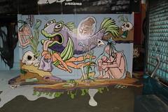 Sophia den Breems (Paul Optenkamp) Tags: streetart streetartcity kijkduin paint beach shoppingmall muralart graffiti colorful