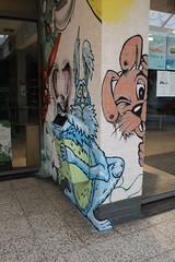 IMG_5709 (Paul Optenkamp) Tags: streetart streetartcity kijkduin paint beach shoppingmall muralart graffiti colorful