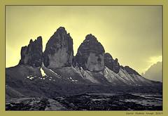Tre Cime (cienne45) Tags: carlonatale cienne45 natale italy mountains alps dolomiti clouds lavaredo cimedilavaredo trecime lavaredohiking dreizinnen