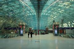Frankfurt am Main Flughafen Fernbahnhof (peter.velthoen) Tags: frankfurtammain flughafenfernbahnhof db bahnhof petervelthoen station vliegveld airport railwaystation deutschland
