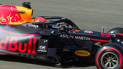 Max Verstappen Red Bull Racing 33 (WvB Photography - The Sky Is The Limit) Tags: one 1 belgium pentax sigma grand racing prix walker formula johnnie k3 2019 spafrancorchamps combes sigma150500oshsm weslyvb weslyvanbatenburg pentaxk3 red max 33 bull verstappen martin aston
