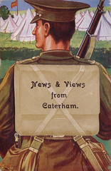 CATERHAM POSTCARD (old school paul) Tags: vintage postcard caterham
