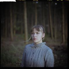 Provia_400 (DonovanAJones) Tags: film 120 provia fujifilm rekha garton model forest kiev 60 sunlight woods witch