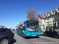 CX07CUV 2658 Arriva Buses Wales in Llandudno (Nuneaton777 Bus Photos) Tags: arriva buses wales wright pulsar cx07cuv 2658 llandudno