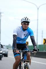 DSCF2005 (陳育生) Tags: run 路跑 跑步 百k 接力賽 腳ㄚ子 單車 自行車 前導 領騎