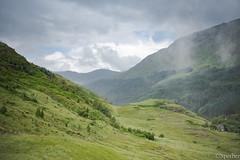 Coe (La nesto de la lango) Tags: escocia highlands familia lago paisajes vacaciones verano viajes summertime valle montañas lanscape misty fog valley mountains niebla