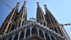 Basílica (thomasgorman1) Tags: nikon basilica spires catholic travel architecture church spain barcelona sagrada