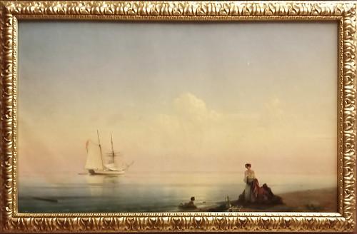 Iván Aivazovski: 'Costa'. Museo Ruso.  San Petersburgo. Rusia