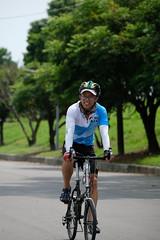 DSCF2099 (陳育生) Tags: run 路跑 跑步 百k 接力賽 腳ㄚ子 自行車 單車 前導 領騎 眼鏡