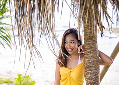 Young woman leaning on tropical tree at beach (Apricot Cafe) Tags: imgr32572 asia asianandindianethnicities japan japaneseethnicity millennialgeneration naha okinawaprefecture beach carefree casualclothing copyspace day freedom happiness healthlifestyle leaning leisureactivity lifestyles lookingaway nature oneperson oneyoungwomanonly outdoors people photography realpeople sleevelessn smiling summer toothysmile tourism tourist travel traveldestinations tree vacations waistup women youngadult
