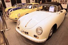 Porsche 356 A Cabrio 1600 S (divertom68) Tags: deutschland germany nordrhein westfalen essen e technoclassica ausstellung messe porsche 356 cabrio cabriolet luftgekühlt oldtimer auto fahrzeug kfz liebhaber