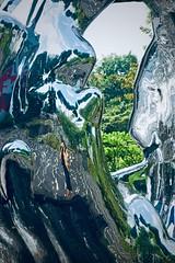 244/365: the reality hole (Fille.de.Lumière) Tags: mirror mysticmirror memyselfandi meinthemirror distortion reflective reflection lightandreflection ofme selfexpression selfportrait sculpture melt