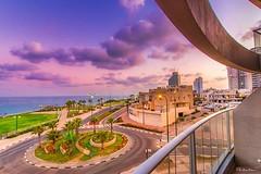 Netanya Sunrise (Ala Khayo Makari) Tags: netanya sunrise longexposure ramadahotelandsuitesnetanya seaview mediterranean mediterraneansea waterfront ramada