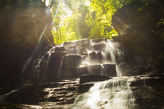 Light and Water (Matt Champlin) Tags: water waterfall amazing sunlight beautiful hike hiking adventure moravia fillmore fillmoreglenstatepark fillmoreglen peaceful light sun summer september nature outdoors friends canon 2019