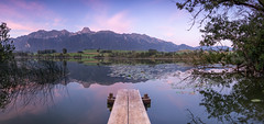 Morning Light (Sebilatius) Tags: sunrise lake landscape landschaft schweiz switzerland bernese highlands berner oberland bern sony alpha6000 sigma panorama