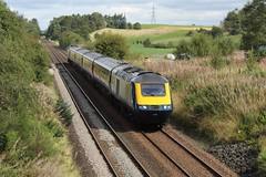 Photo of 43003 t&t 43149 1T77 10:31 Aberdeen to Glasgow Queen Street; Ashfield, Dunblane; 01-09-2019