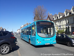 CX07CUG 2653 Arriva Buses Wales in Llandudno (Nuneaton777 Bus Photos) Tags: arriva buses wales wright pulsar cx07cug 2653 llandudno