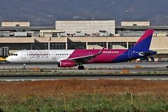 HA-LXD Airbus A.321-231SL Wizz Air AGP 23-08-19 (PlanecrazyUK) Tags: lemg malaga–costadelsolairport malaga costadelsol halxd airbusa321231sl wizzair agp 230819