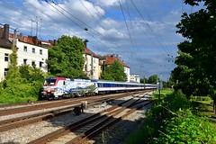 "193 773 ""Lokomotion"" München Süd (Matthias Greinwald) Tags: 193 773 lomo zebra werbelok tri münchen süd lokomotion"