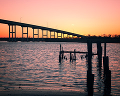 Pungo Ferry Crossing (DASEye) Tags: davidadamson daseye nikon pungo sunset dusk oldpungoferrycrossing virginiabeach virginia vabeach va river inlandwaterway water sky skies