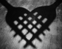 A dark and evil heart (Bhuvan N) Tags: fork stilllife stilllifephotography shadows abstract abstractphotography forks absoluteblackandwhite blackandwhite mono monochrome shapes lines fun bw shadow cutlery