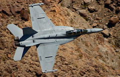 Growler (EverydayTuesday) Tags: boeing ea18g growler lowflying fighter jet vx9 vampires deathvalley rainbowcanyon starwarscanyon jeditransition canon 80d 100400 usnavy