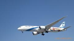 P1170923 4X-EDD Haifa B787-958 Dreamliner in San Francisco Las Vegas livery LY315 TLV-LHR at London Heathrow Airport 27R Northern Perimeter Road Cranford London (LJ61 GXN (was LK60 HPJ)) Tags: 27r lhr egll londonheathrowairport elal boeing787 boeing7879 boeing7879dreamliner b787958 4xedd haifa elal315heavy ly315 ely315 63392 671 789 b789 sanfranciscolasvegaspromotion rollsroyce trent1000 dreamliner boeingb787 boeingb7879 boeingb7879dreamliner
