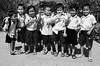 DES Ecoliers heureux!!!!_5025 (ichauvel) Tags: écoliers pupils enfants chidren happiness contents heureux happy enfance childhood rentréedesclasses groupe fillettes garçons littlegirls litleboys cambodge cambodia asie asia southeastasia asiedusudest voyage travel uniformes joie mignons cute