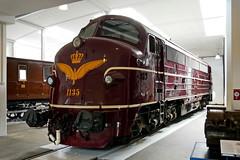P1890814 (Lumixfan68) Tags: eisenbahn loks baureihe my nohab dieselloks odense eisenbahnmuseum historisch sechachser dsb dänische staatsbahn rundnase