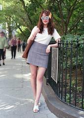 7xi-0826-006b (stephen sherman) Tags: film fujisuperia400 minolta7xl newyorkcity manhattan greenwichvillage streetstyle asiangirl