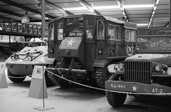 Santa Fe event - 2019 (Ronald_H) Tags: santa fe event nikon f65 black white film jch streetpan 400 2019 military vehicle wwii overloon war museum