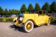 Franklin 1927 (FocusPocus Photography) Tags: franklin oldtimer classiccar auto car gelb yellow automobil vehicle classicgala schwetzingen