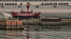 Calshot Spit (coopsimages) Tags: calshotspit calshotspitlightship lightvessel78 lv78 historicship ship lightship townquay southampton stevecooper