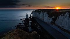Brave New World (Aphélie) Tags: etretat normandie france sunrise soleil lever normandy