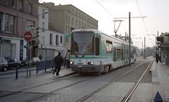 2001-11-05 Paris Tramway Nr.105 (beranekp) Tags: france frankreich paris tramvaj tram tramway tranvia šalina strassenbahn elektrika električka 105
