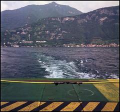 Rolleis Lake Como Experience 2019 (503) (Hans Kerensky) Tags: rolleiflex 35c 6x6 tlr fujifilm pro 160ns scanner plustek opticfilm 120 lake como italy 2019 ferry bellagio