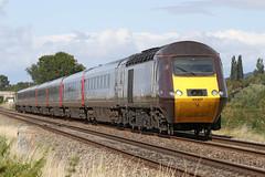 43357 Class 43 HST (Roger Wasley) Tags: station train edinburgh crossing diesel plymouth trains gloucestershire crosscountry level locomotive railways waverly highspeed hst class43 43357 homedowns