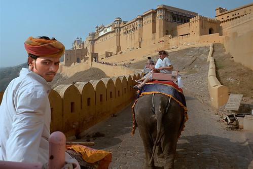 Amber Fort. Jaipur, India