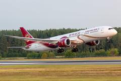 B-208A Boeing 787-9 Dreamliner Juneyao Airlines (Andreas Eriksson - VstPic) Tags: b208a boeing 7879 dreamliner juneyao airlines airjuneyao1607divertedfromhelsinkitostockholmthismorning seenheredepartingrwy08forhelsinki