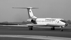 RA-65068 1999-02-28 AMS (Gert-Jan Vis) Tags: ra65068 tupolev tu134 pulkovo aeroflot schiphol 49907 tu134a3