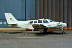 I-MAWW  Beech 58P Baron [TJ-55] Milan-Bresso~I 20/07/2004 (raybarber2) Tags: abpic airportdata cntj55 filed flickr imaww italiancivil limb planebase raybarber tj55 twinprop