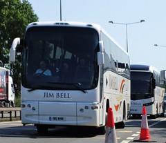 Jim Bell Coaches Volvo B12B 95 VHK (sab89) Tags: jim bell coaches volvo b12b 95 vhk