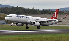 Turkish TC-JTG, OSL ENGM Gardermoen (Inger Bjørndal Foss) Tags: tcjtg turkish airbus a321 osl engm gardermoen