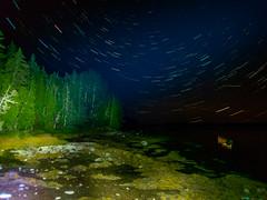 Night sky via Olympus TG-6 (Brett of Binnshire) Tags: night usa hancockcounty binnshire bay auroraborealis motionblur longexposure ocean locationrecorded scenic lightpainting shoreline gouldsboro astrolandscape water photographictechnique maine northernlights tg6 tg5 olympus nightsky livecomposite westbay grandmarshbay