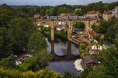 Classic knaresborough view point. (Darren Speak) Tags: mothershiptonscave tourists viaduct train boats knaresborough