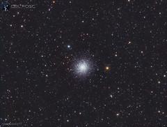 Messier 13 (https://celfoscastrofotografia.blogspot.com/) Tags: astrofotografia astronomía astronomy astrophotografy cieloprofundo messier messier13 m13 cúmuloglobular ed80 skywatcher lxd75 meade qhy163m qhy163 qhyccd astrometrydotnet:id=nova3609645 astrometrydotnet:status=solved