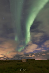 Clouds and Northernlights (Kjartan Guðmundur) Tags: iceland ísland auroraborealis northernlights norðurljós nocturne clouds sky arctic night canoneos5dmarkiv sigma14mmf18art kjartanguðmundur