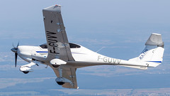 Diamond DA-40D F-GUVV EATIS (William Musculus) Tags: diamond da40d fguvv eatis da40 tdi star european aviation training institute in strasbourg air to airtoair shot shooting plane airplane spotting aircraft