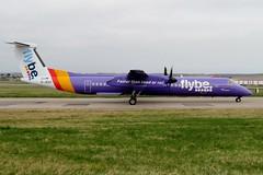 G-JEDU Aberdeen 8 April 2019 (ACW367) Tags: gjedu dehavillandcanada dhc8q402 dash8 flybe aberdeen